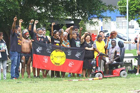 Brisbane gets a tent embassy as sovereignty c&aign heats up & The Wire