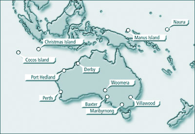 Map Of Christmas Island In Relation To Australia